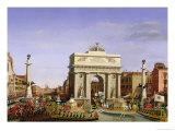 Entry of Napoleon I (1769-1821) into Venice  1807