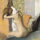 After the Bath  Woman Drying Her Neck  1898