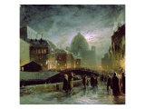 Illuminations in St Petersburg  1869