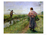 In the Morning  1889