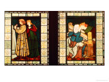 Honeymoon of King Rene of Anjou  by Burne-Jones and Dante G Rossetti  1862