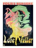 Folies Bergeres: Loie Fuller  France  1897