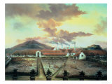A Sugar Plantation in the South of Trinidad  circa 1850