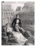 Francois Rene (1768-1848) Vicomte De Chateaubriand and Pauline De Beaumont