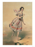 "Dancer Maria Taglioni (1804-84) in the Ballet ""Sylphides "" 1840s"