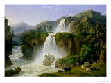 The Waterfall at Tivoli  1785