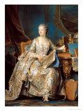 Jeanne Poisson (1721-64) the Marquise De Pompadour  1755