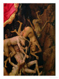 The Last Judgement  Detail of the Fall of the Damned to Hell  circa 1445-50