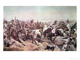 Charge of the 21st Lancers at Omdurman  2nd September 1898