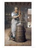 Churning Butter  1866-68