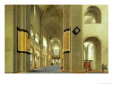 Interior of the Marienkirche in Utrecht  1638