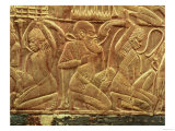 The Enemies of Egypt Vanquished and Enslaved  Detail from the Inside of One of the State Chariots