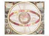 Planisphere  Fr Atlas Coelestis  Engraved by Pieter Schenk (1660-1719) and Gerard Valk (1651-1726)
