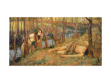 The Naiad  1893 (Hylas with a Nymph)