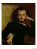 Portrait of Charles Baudelaire (1821-67) 1844