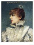 Sarah Bernhardt (1844-1923) 1875