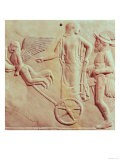 Aphrodite and Hermes Riding on a Chariot Pulled by Eros and Psyche  470 BC