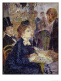 At the Cafe  circa 1877
