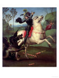 St George Struggling with the Dragon  circa 1505