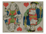 Design for Playing Cards  circa 1810