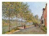 June Morning in Saint-Mammes  1884