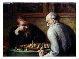 The Chess Players  circa 1863-67