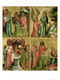 Joachim&#39;s Sacrifice  the Circumcision of Christ  the Annunciation to St Joachim