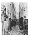 Rue Des Anglais  from Boulevard Saint-Germain  Paris  1858-78