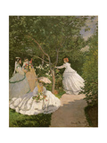 Women in the Garden  1867