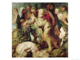 The Drunken Silenus  circa 1617-18