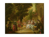 The Minuet under the Oak Tree  1787