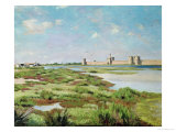The City Walls of Aigues-Mortes  1867