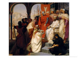 Knights of the Order of St John of Jerusalem Restoring Religion in Armenia in 1347  1844