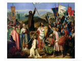 Procession of Crusaders Around Jerusalem  14th July 1099  1841