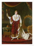 Portrait of Napoleon (1769-1821) in His Coronation Robes  1811