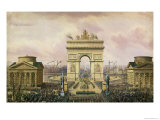 Return of the Ashes of the Emperor to Paris  15th December 1840