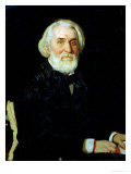 Portrait of Ivan S Turgenev (1818-83)  1879