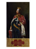 Richard I the Lionheart (1157-1199) King of England  1841 (Oil on Canvas)