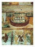 Noah's Ark During the Flood  circa 1100