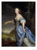 Portrait of Madame De La Sabliere