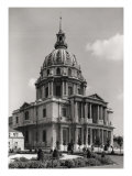 Facade of the Church of St Louis  Dome Des Invalides  1679-1706