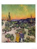 Moonlit Landscape  c1889