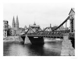 Weser Bridge  Bremen  circa 1910