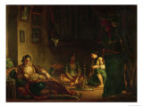 The Women of Algiers in Their Harem  1847-49