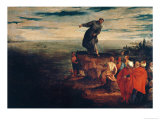 St Anthony Preaching to the Fish  circa 1580