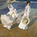 A Walk on the Beach  1909
