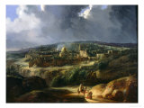 View of Jerusalem from the Valley of Jehoshaphat  1825