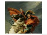 Napoleon Crossing the St Bernard Pass  circa 1801 (Detail)