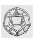 Dodecahedron  from &quot;De Divina Proportione&quot; by Luca Pacioli  Published 1509  Venice