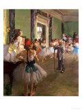 The Dancing Class, circa 1873-76 Giclée par Edgar Degas